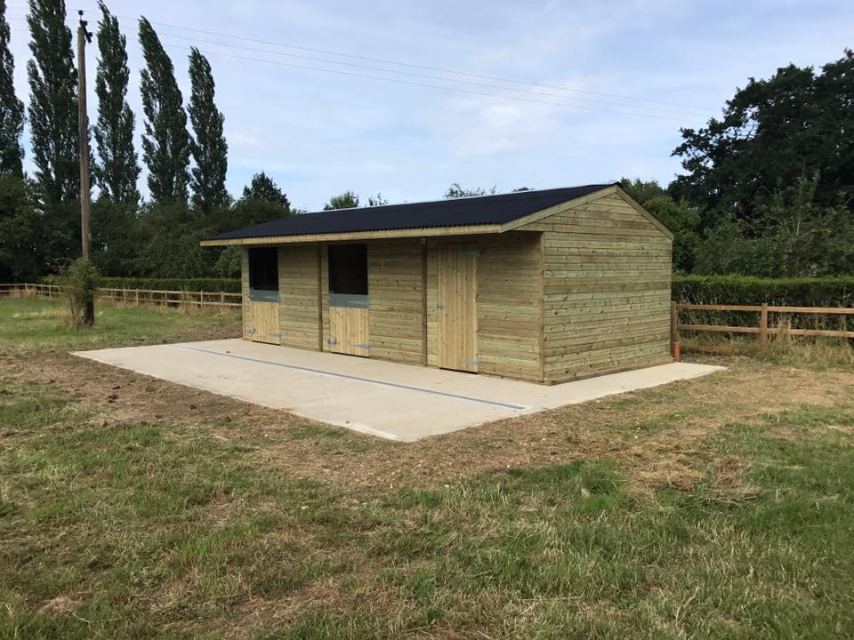 12 x 30 Stable Block Shiplap Timber