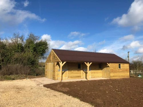 Bespoke Timber Garage and Workshop