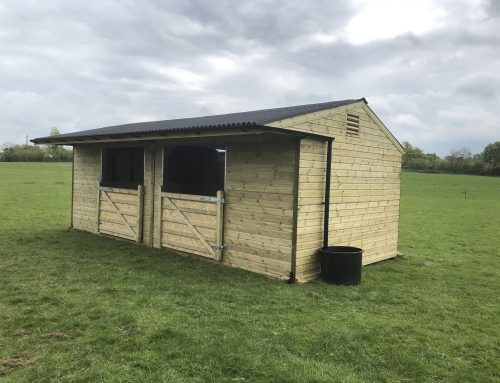 Mobile Field Shelter Delivered and Installed in Buckinghamshire