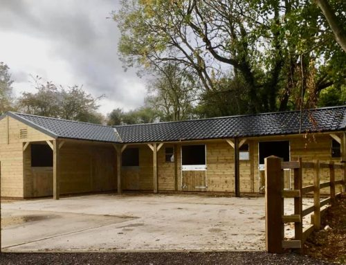 Timber Stables Delivered and Installed in Northamptonshire