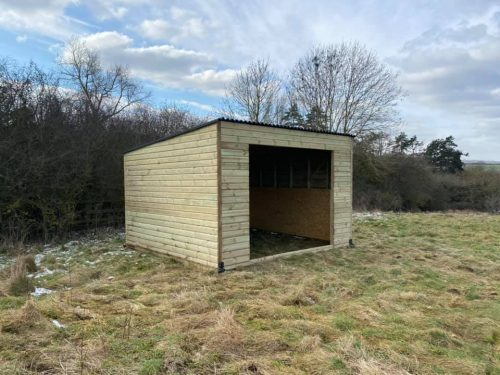 Pent Roof Field Shelter